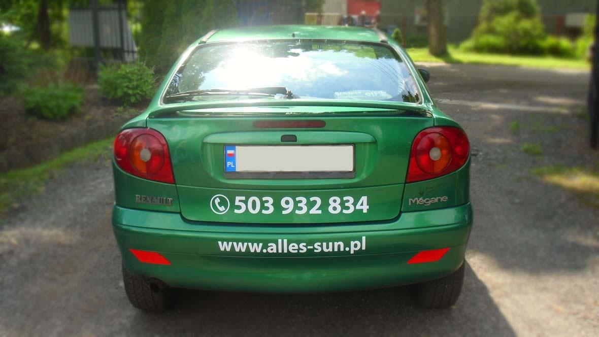 oklejenie pojazdu2 ALLES-SUN