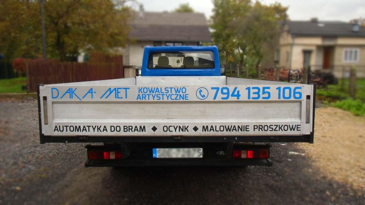 oklejenie pojazdu2 DAKA-MET
